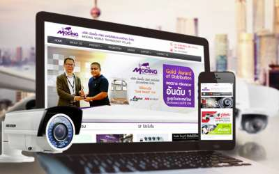 รับออกแบบเว็บไซต์Moding World Technology Co.,Ltd