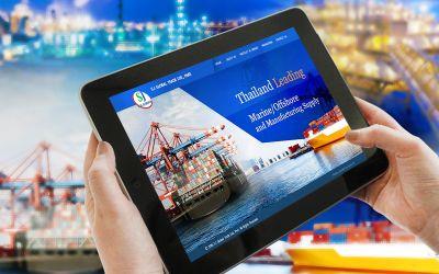 รับทำเว็บไซต์S.J Global Trade Ltd., Part.
