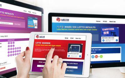 รับทำเว็บไซต์Lotto Hong Kong & Philippine Result