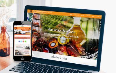 รับทำเว็บไซต์Phattana Palm Engineering Co., Ltd.